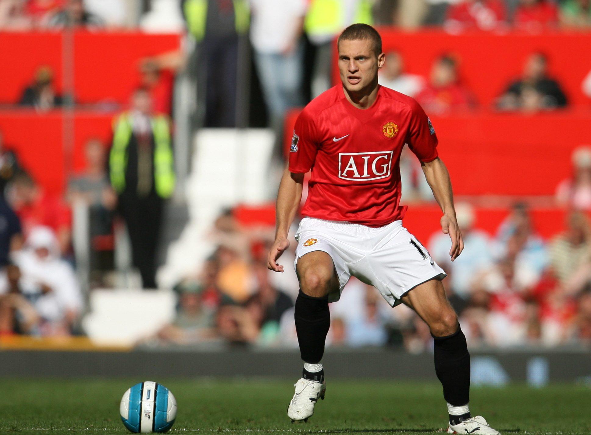 Nemanja Vidic for Manchester United