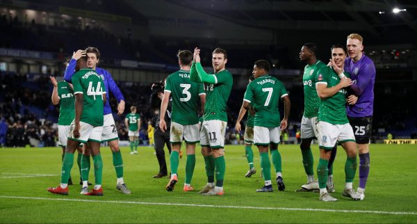 sheffield wednesday celebrate fa cup win over brighton